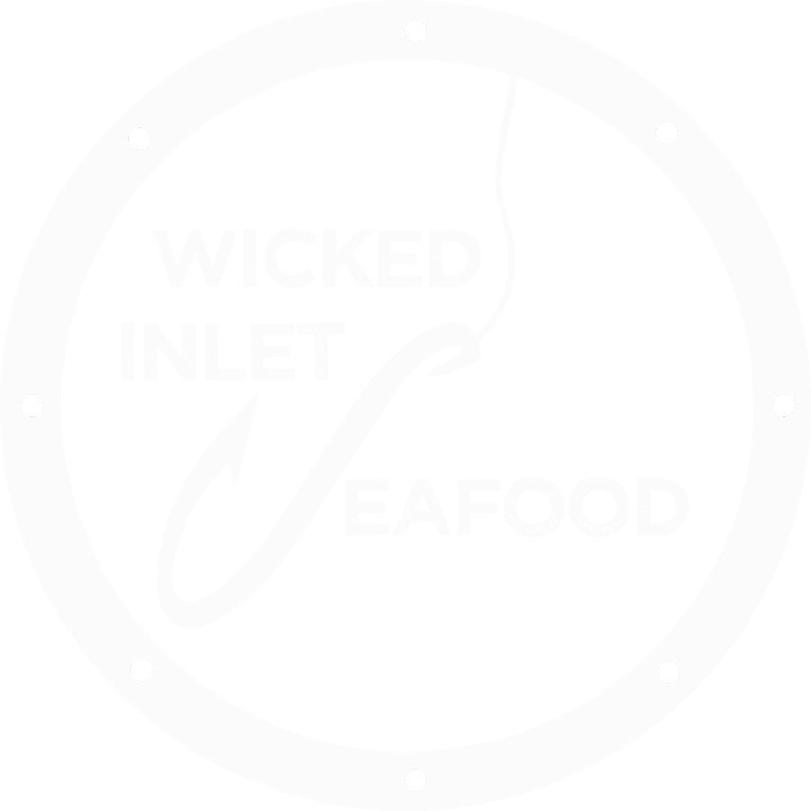 Wicked Inlet Seafood Logo BW